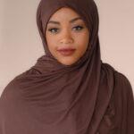 Brown Jersey Hijab